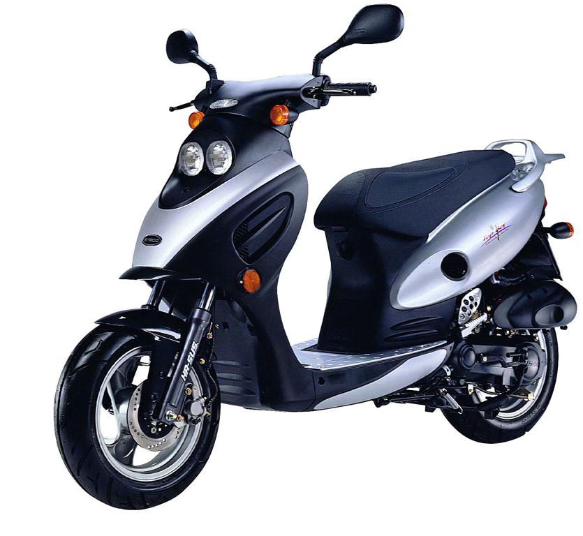 Китайский скутер картинка