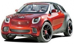 Новый Smart ForTwo и ForFour 2014 года